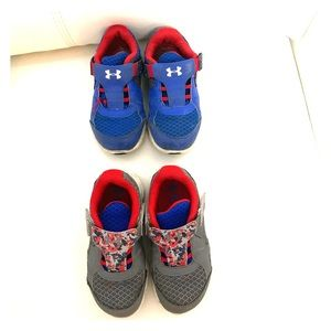 Under armour toddler boy shoes